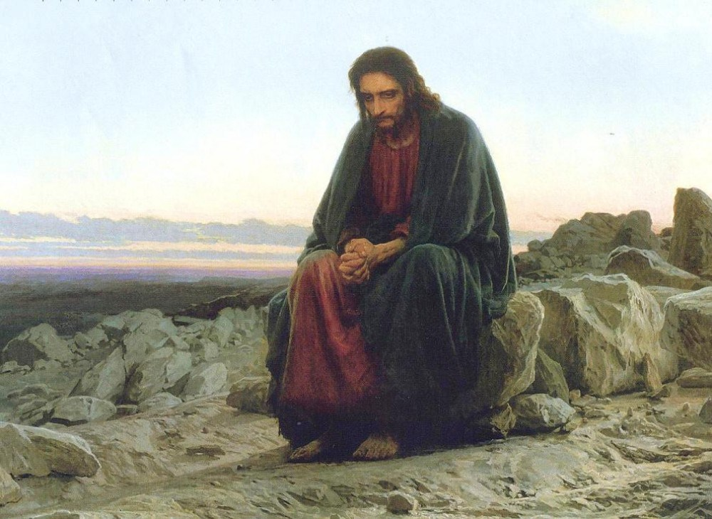 christ in desert