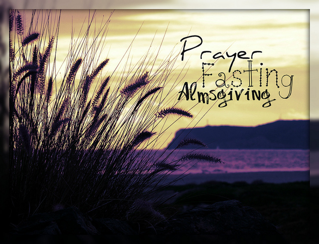 prayer fast alms